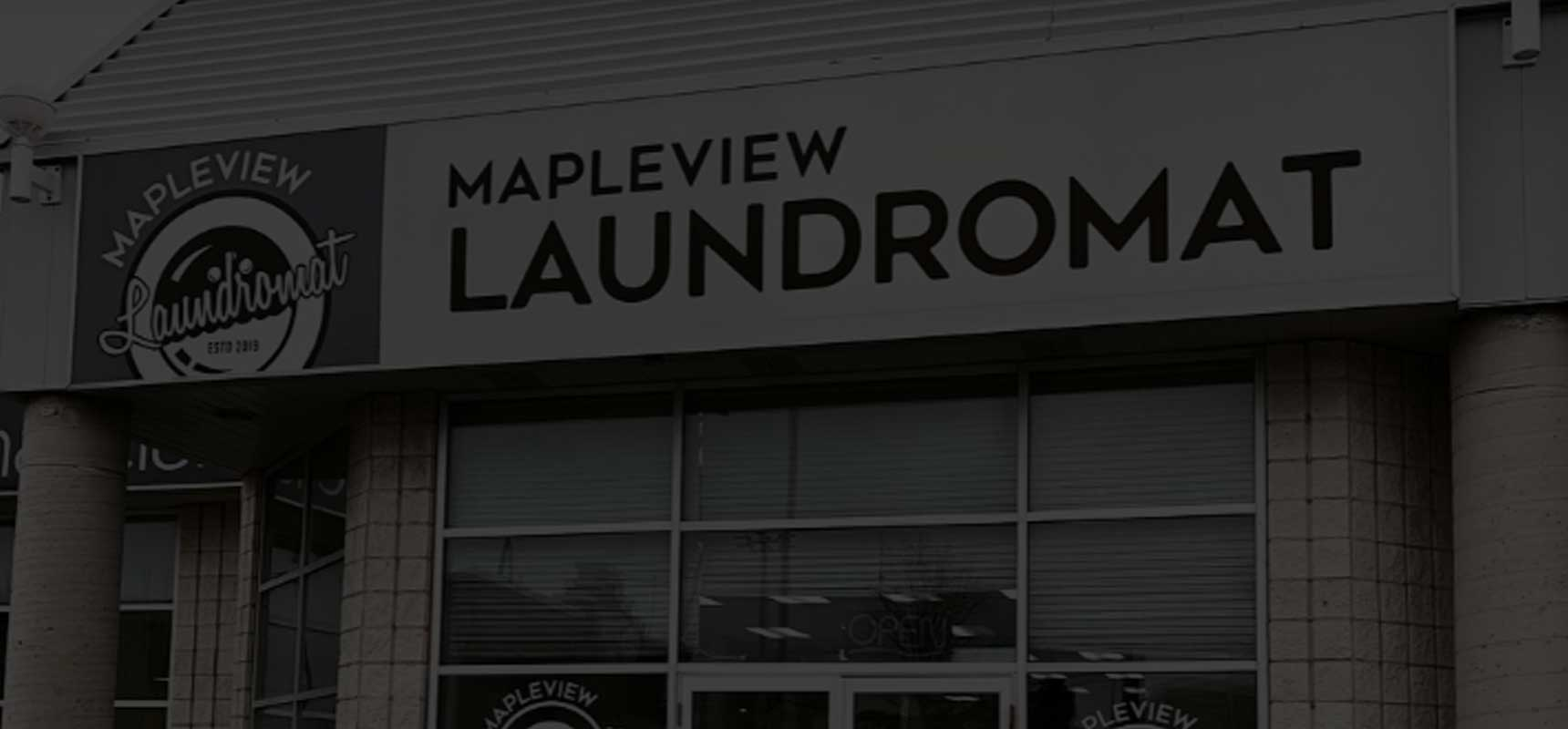 Mapleview Laundromat storefront